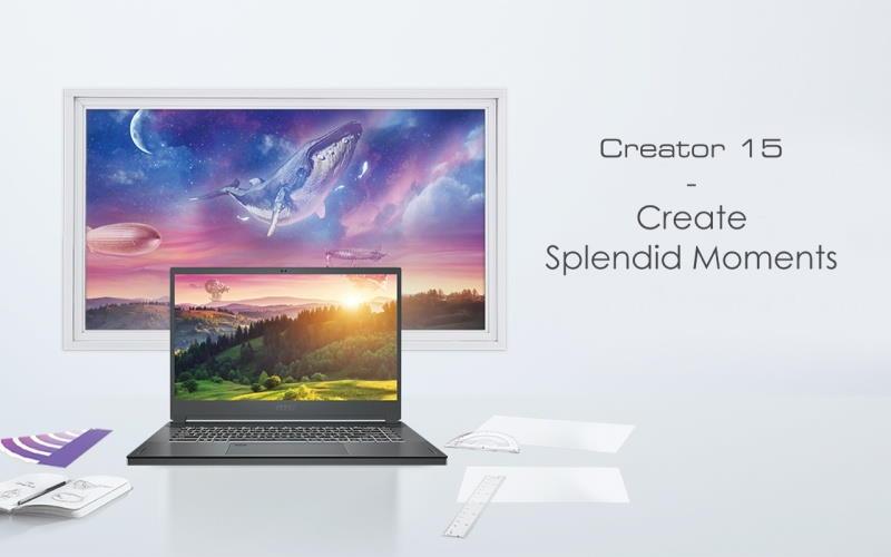 MSI a prezentat o gama noua de laptop-uri echipate cu placi video RTX 3000-Creator 15