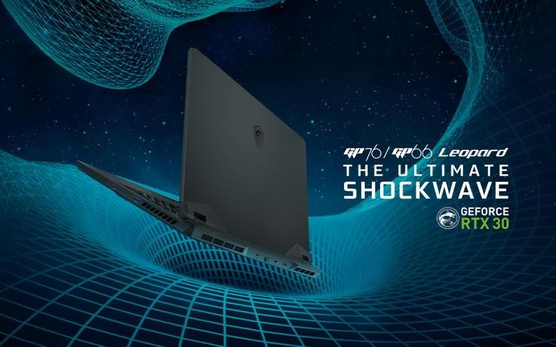 MSI a prezentat o gama noua de laptop-uri echipate cu placi video RTX 3000-Leopard