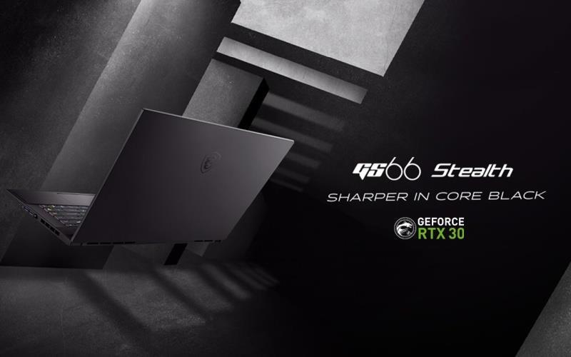 MSI a prezentat o gama noua de laptop-uri echipate cu placi video RTX 3000-Stealth