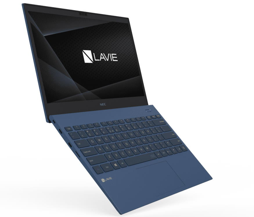 NEC-LAVIE-Pro-Mobile_slim-profile_Navy-Blue