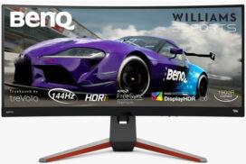 BenQ a lansat monitor MOBIUZ EX3415R, un monitor curbat pentru SimRacing