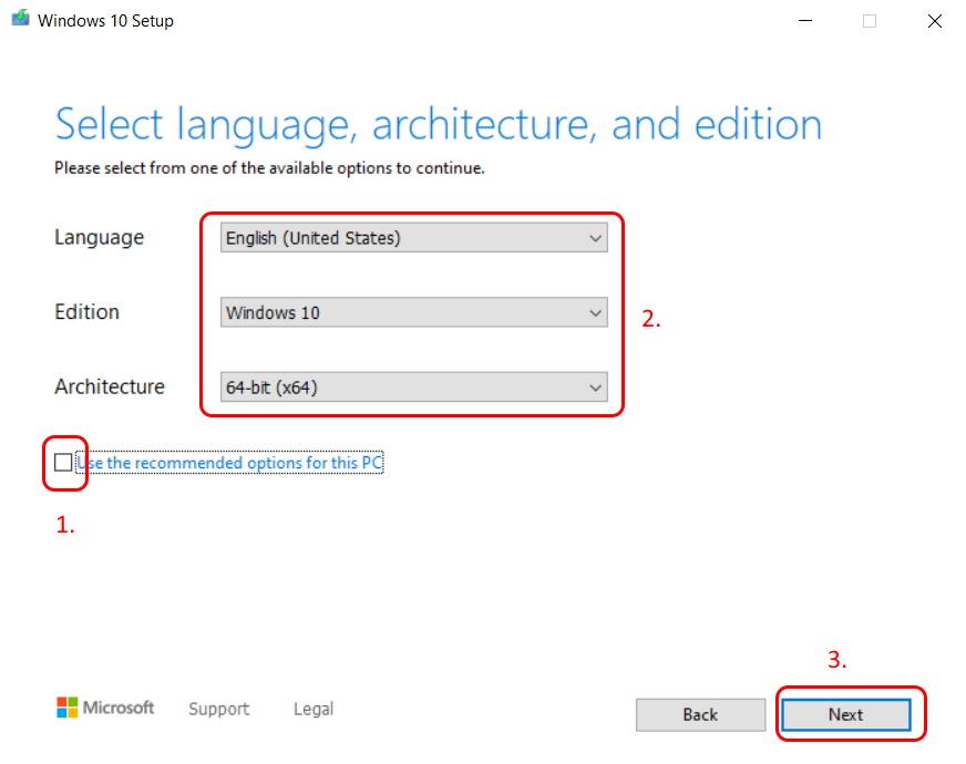 Cum pregătim o memorie USB bootabilă pentru instalarea de Windows 10-language