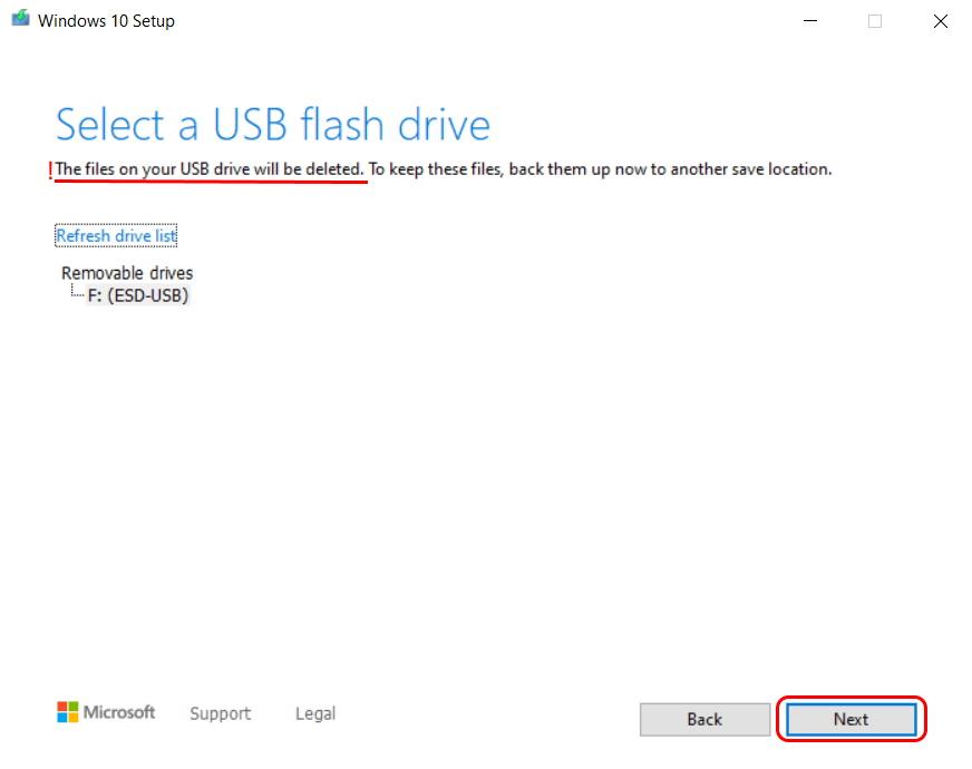 Cum pregătim o memorie USB bootabilă pentru instalarea de Windows 10-mapare