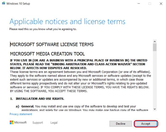 Cum pregătim o memorie USB bootabilă pentru instalarea de Windows 10-termeni
