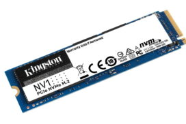 Kingston a lansat SSD-ul NV1 NVMe destinat pentru uz personal (Laptop/Desktop)