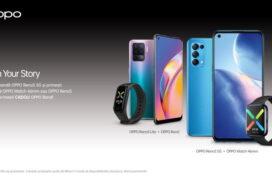 Noile smartphone-uri OPPO Reno5 5G și Reno5 Lite sunt disponibile la precomandă