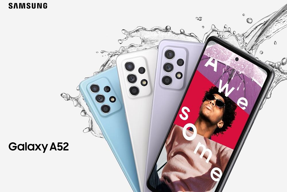 Samsung a lansat un update la seria de telefoane Galaxy A52, A52 5G și A72-2