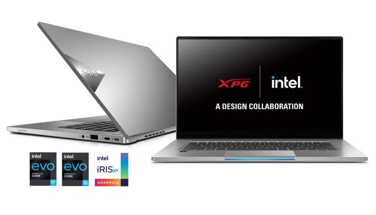 XPG dezvăluie ultrabookul de gaming Xenia Xe cu certificare Intel EVO